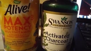 ACTIVATED CHARCOAL, DETOX COVID,, & INFO FOR NED AND HT