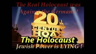 JEWS KNOW THE HOLOCAUST IS A HOAX!