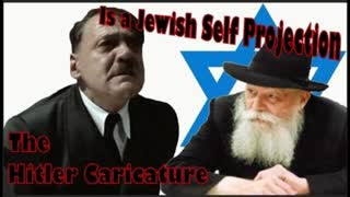 The Hitler Caricature is a Jewish Self Projection
