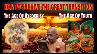 HOW TO SURVIVE THE GREAT TRANSITION FROM THE AGE OF HYPOCRISY TO THE AGE OF TRUTH
