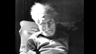 """With USURA"" read by Ezra Pound. Canto XLV."