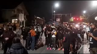 BLM Mob Demands White People Move Out of Homes and Give Them to Black People