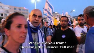 """Attacked by a Tel Aviv """"Death to Arabs!"""" mob"""