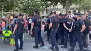 Bring a Baton. France just like Palestine - Your Pointless Protests Are Working Aren't They? (29th Aug)