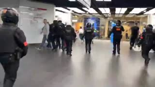 Picking off In-divid-U-alls 1 by1.French Police Attack Women Over No Vaccine Passport: Protesting Is Working Isn't It! See description.