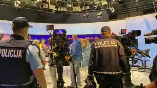 Slovenian Citizens Invade TV Station And Demand Network Represent The People (5th Sept)