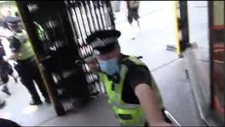 Police ambush protestors who are anti child abuse currently being implemented by Big-Pharma.