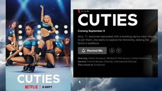 """Why is """"Cuties"""" by Netflix rated """"Adult"""" or MA"""
