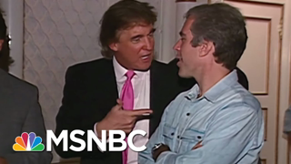 1992 Tape Of Trump And Epstein - The Day That Was   MSNBC