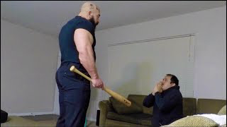23 year old man comes to see a 14 year old girl but meets Russian Dad instead