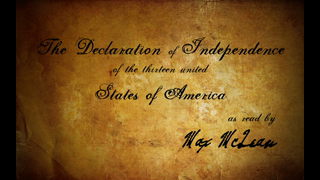 The Declaration of Independence (as read by Max McLean)