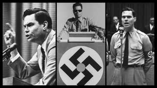 Commander George Lincoln Rockwell on TV