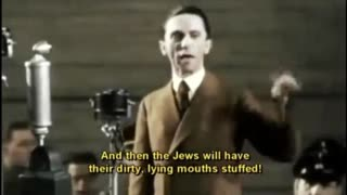 """Do You Want Total War?"" - Joseph Goebbels"