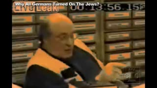 Why All Germans Turned On The Jews? America Will Have Weimar Conditions & Solutions