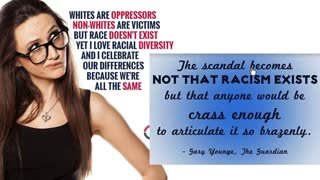 Only the Colour of your skin and other Anti-White Lies!