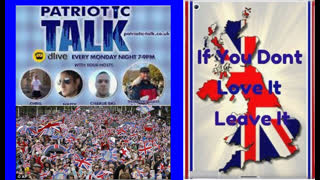 Britain: Patriotic Talk chat to Jan about S.African violence & teaching Whites