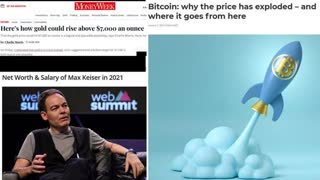 White Survival: Investment: Max Keiser's predictions for Bitcoin, Gold & Silver in 2021 onwards