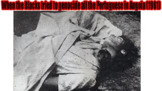 When the Blacks tried to genocide all the Portuguese in Angola: The Battle of Carmona