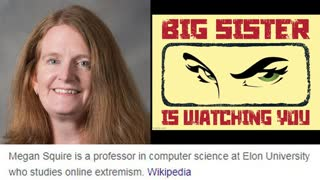 The Censorship Witch: The Professor who uses Computer Data to destroy Whites
