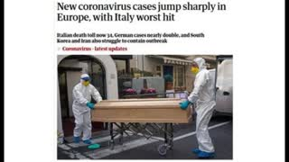 Italian medical specialists say the Corona Virus is NOT as deadly as the Mass Media says