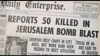 How Israel was Created by Terrorist Gangs - Militant Zionism 1940's Palestine Documentary Film