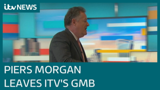 Piers Morgan staged exit