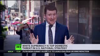 Domestic war on terror   US says white supremacy is top threat