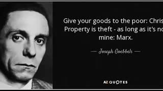 Dr Joseph Goebbels - Communism with the mask off, German women & The racial question
