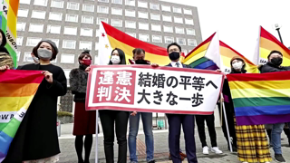 Japan says 'unconstitutional' to bar same-sex marriage
