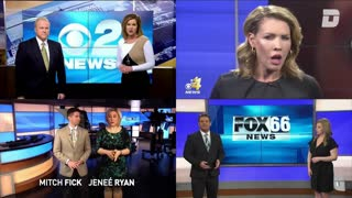 All News Stations Recite The Same Thing At The Same Time