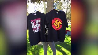 SJW students offended by vendor selling swastika T-shirts
