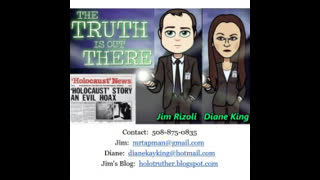 Jim and Diane - Discussing GERMAN BODIES for Allied (Jewish) Atrocities (Nordhausen), July 2, 2021