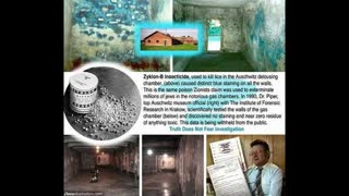 Lying about gas chambers