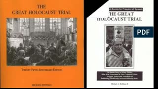 JIm and Diane Present, Hoffman, The First Holocaust Trial, 1985