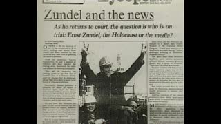 Ernst Zundel Michael Hoffman on Zundel Trials 1985,1988