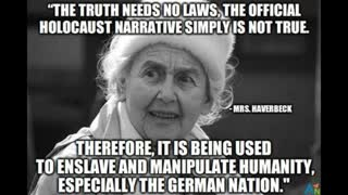 URSULA HAVERBECK DEBUNKS THE HOLOCAUST HOAX, Panorama