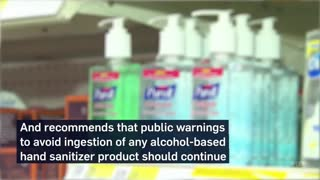 CDC to Americans  Stop drinking hand sanitizer to fight Slavery