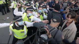Hyde Park Violence: Anti-lockdown protesters clash with police in London