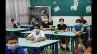 School kids in Israel when told masks are not needed anymore Check out the reaction