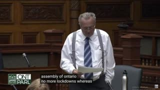 Ontario – Randy HILLIER – PETITION anti-CONFINEMENT Doublage VF