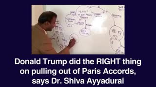 Shiva Ayyadurai explains how Donald Trump did the RIGHT thing on pulling out of Paris Accords