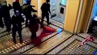 Antifa/BLM operatives being the first to enter the Capitol Building has been uncovered
