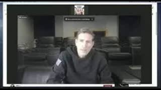 """Actor Jim Caviezel at the conference """"Health and Freedom"""" talks about adrenochrome."""