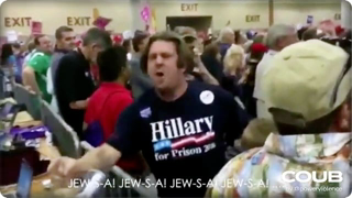 Man Chants, 'Jew SA. You're the ones working for the devil' in 2016