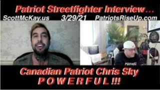 Scott McKay on The Tipping Point on Revolution Radio Interviewing Canadian Patriot Chris Sky 3-29-21