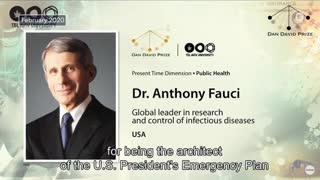 """Anthony Fauci Wins $1 Million Israeli Prize for """"Courageously Defending Science"""""""