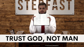 Trust in GOD, Not Republicans, the Military or ANY MAN! | Sermon Clip
