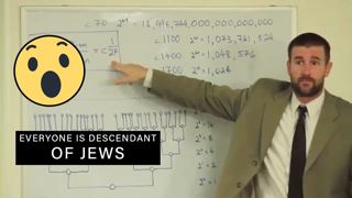 Everyone is descendant of Jews