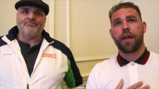 Tyson fury's Father Exposing A Kike. Skip To 9:09 to see the conversation.