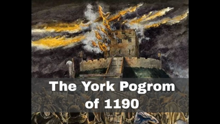 16th March 1190: UK Jewish population of York were kicked out for usury